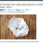 ソーシャル化に取り組む前のあなたへの10の質問