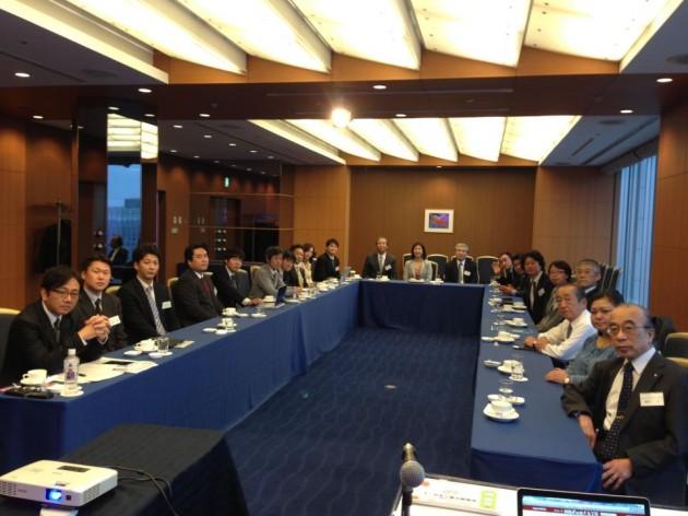 JPCの代表者会の戦略勉強会で講師として呼んで頂きました