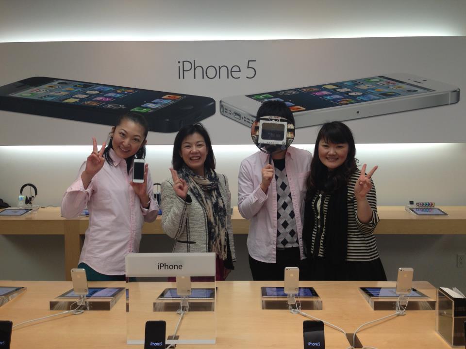 渋谷Apple Storeで動画作成イベントご招待