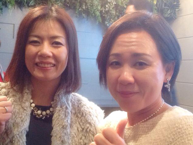 山崎恵子さんと